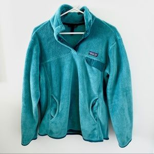Patagonia Women's Re-Tool Snap Fleece Pullover XL